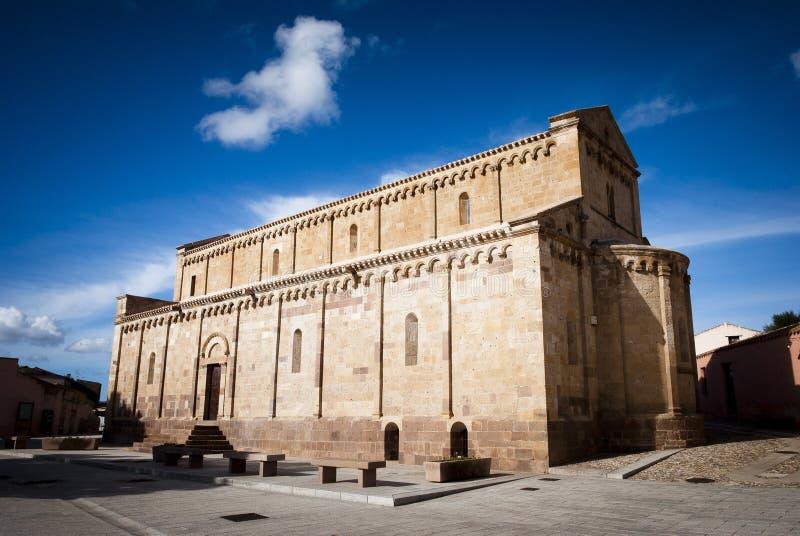 Sardinia.Romanesque church royalty free stock images