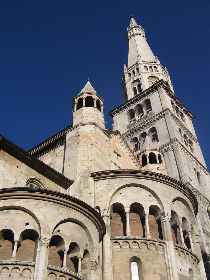 Romanic Kathedraal royalty-vrije stock foto's