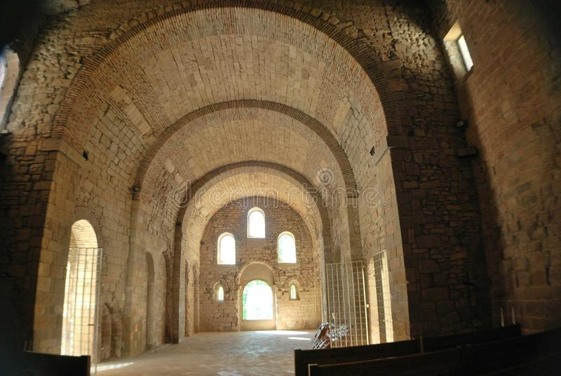 Romanic kościół zdjęcie stock