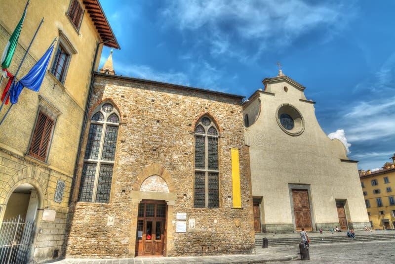 Romano ίδρυμα και εκκλησία Santo Spirito στοκ φωτογραφία