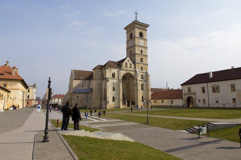 Romano - catedral católica St Michael imagem de stock