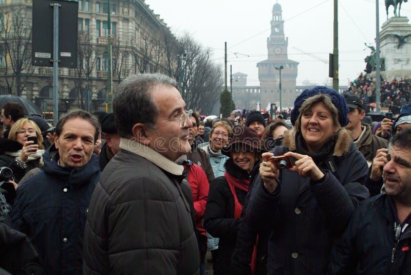 Romano Prodi Editorial Stock Photo