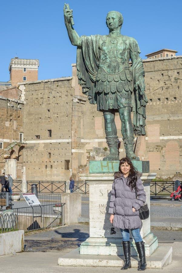 Romano van Foro royalty-vrije stock fotografie