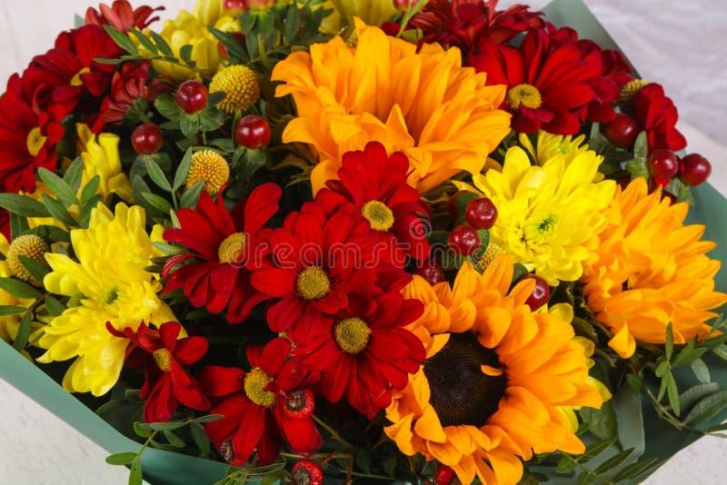 Romansowy kwiatu bukiet obrazy stock