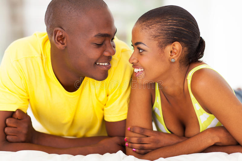 Download Romantic african couple stock photo. Image of husband - 30492630