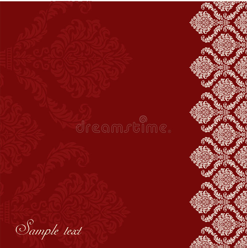 Romantic background royalty free illustration