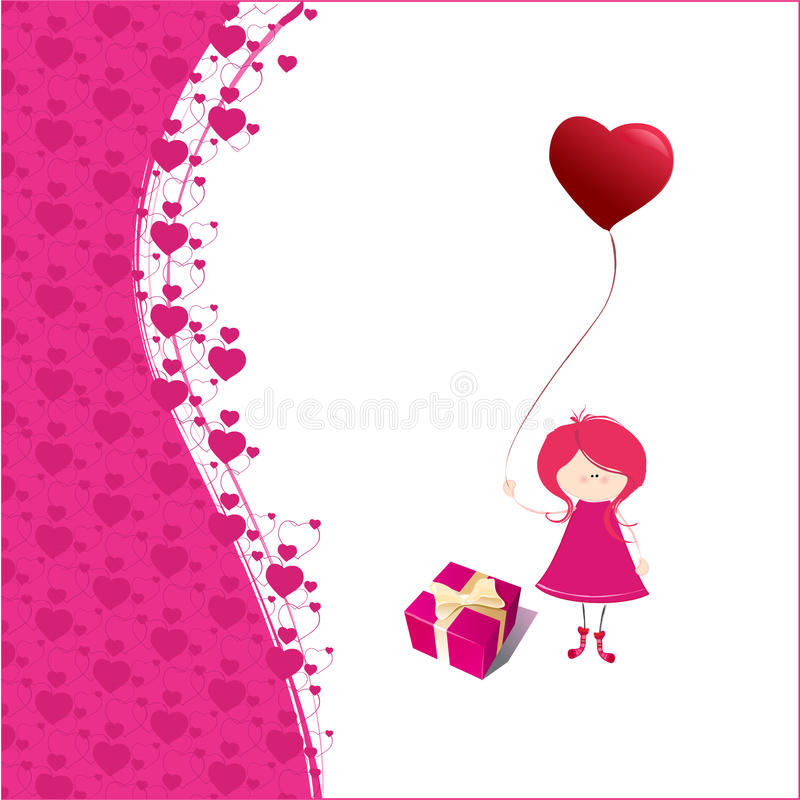 Download Romantic background stock vector. Image of elegant, romantic - 12502574