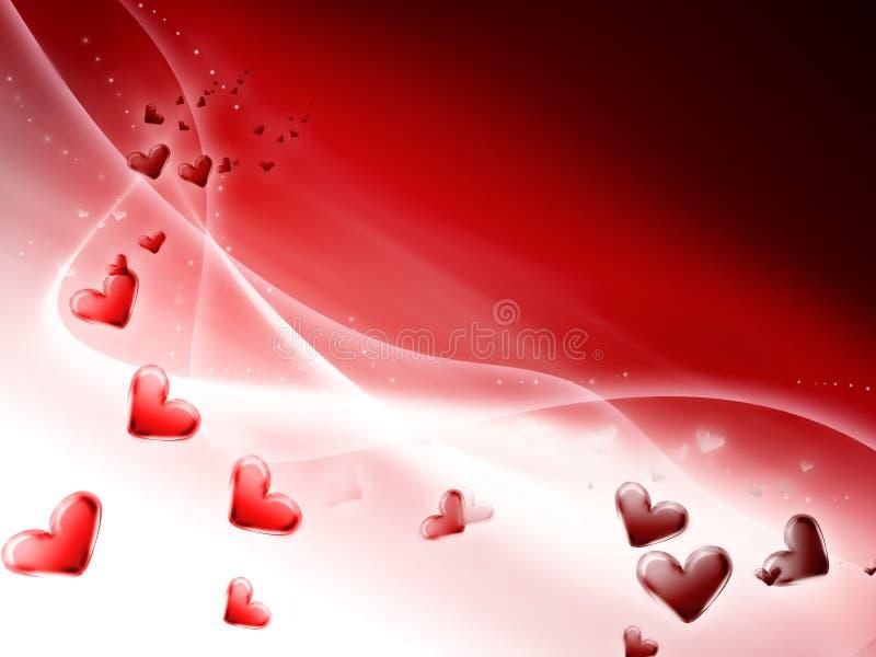 Romantic background stock illustration