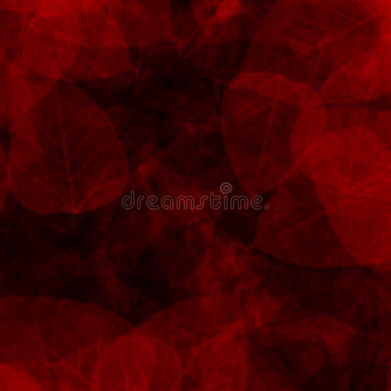 Romantic background of red vegetation stock illustration