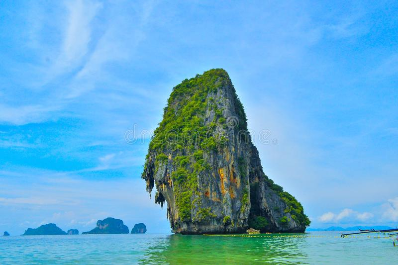 Romantic Bangkok And Phuket Honeymoon. Hatching out a honeymoon destination to give your marital life a perfect start? Get ready to be charmed by the beautiful stock photo