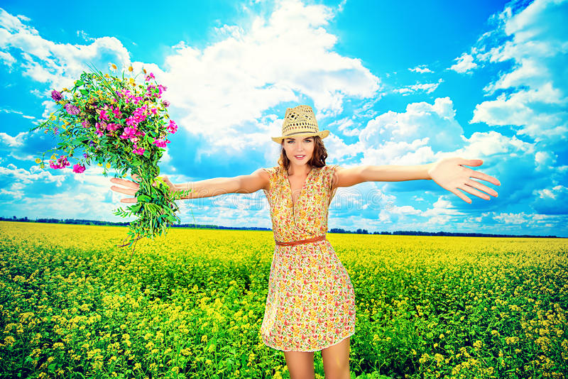 Romantic blossom royalty free stock image