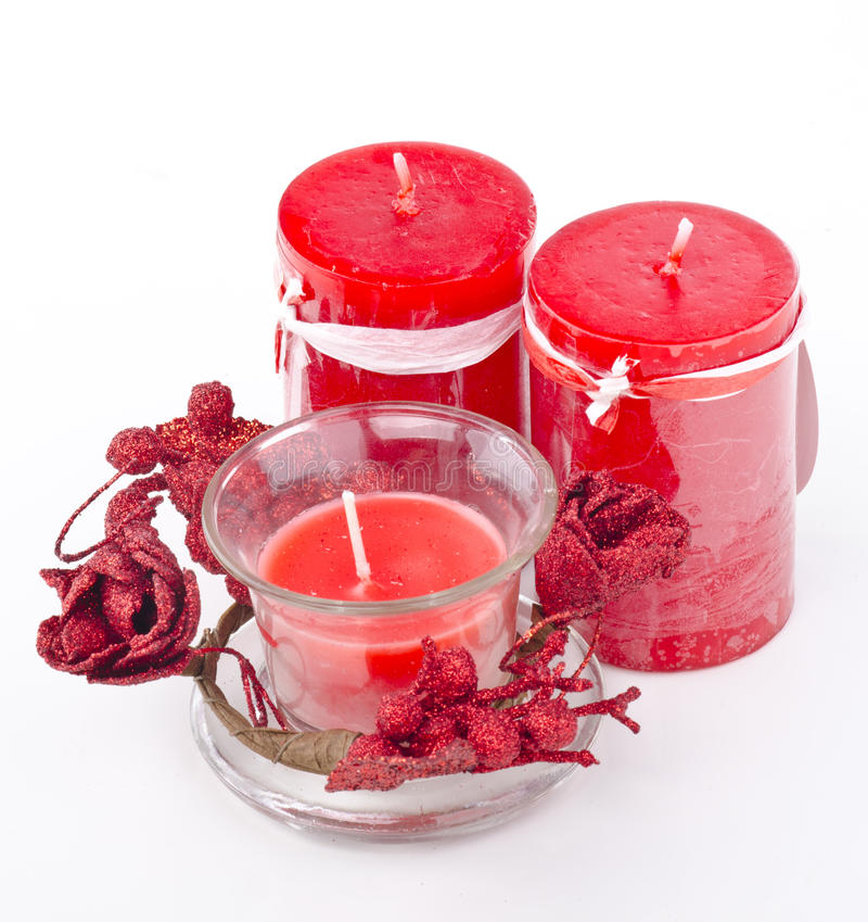 Free Romantic Candle Royalty Free Stock Image - 21572626