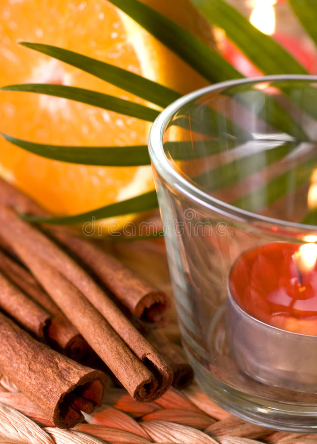 Free Romantic Candles Royalty Free Stock Photography - 14035517
