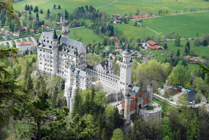 Download Romantic Castle Neuschwanstein, Bavaria, Germany Royalty Free Stock Image - Image: 17103746
