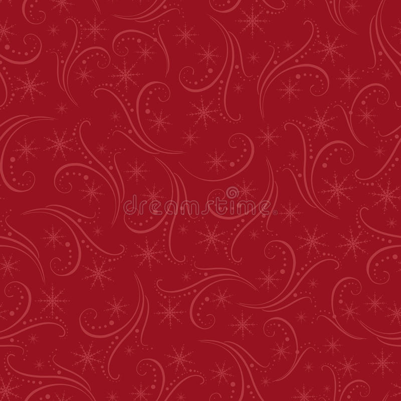 Download Romantic Christmas Seamless Background Stock Vector - Image: 16900072
