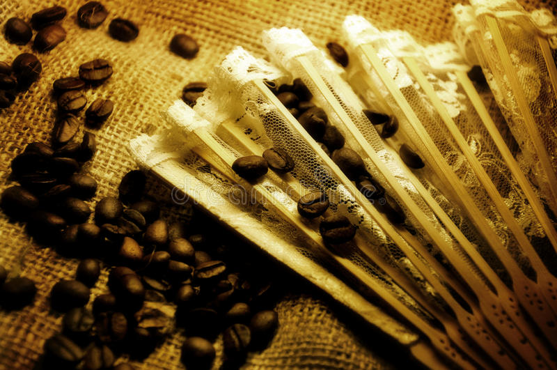 Romantic coffee time stock photo