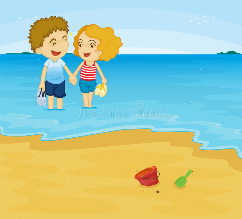 Download Romantic couple stock illustration. Image of cartoon - 24195965