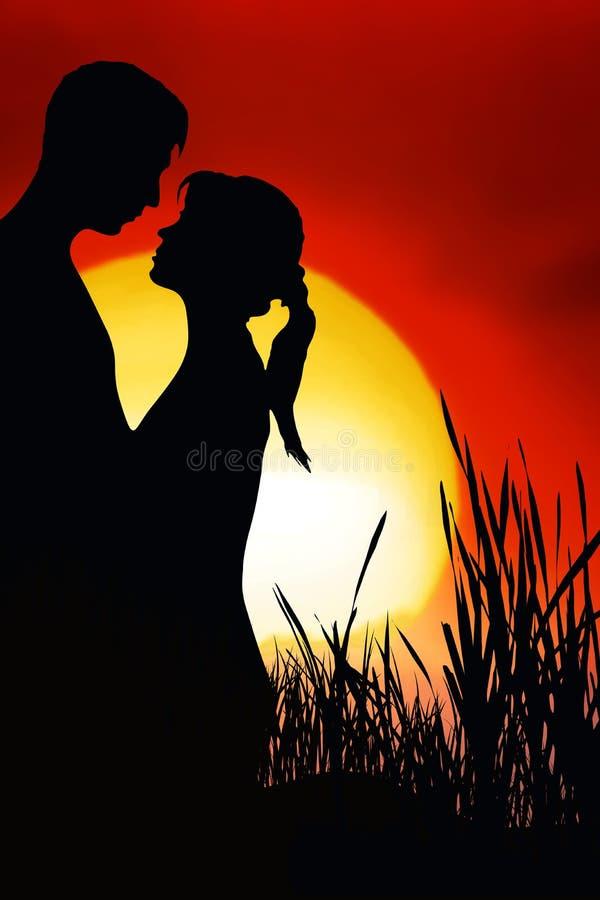Download Romantic Couple stock illustration. Illustration of cordial - 6809911