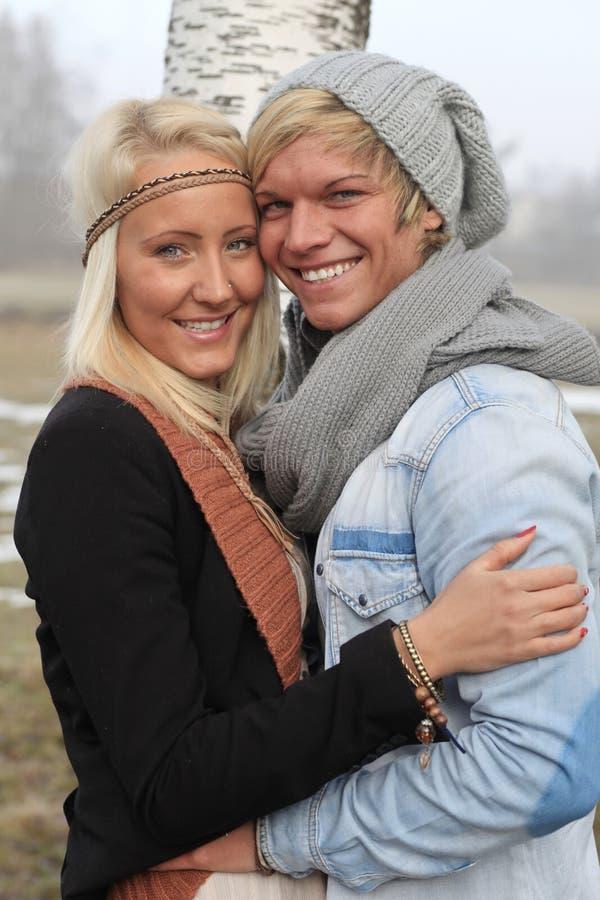 Download Romantic couple autumn stock photo. Image of attractive - 28567576