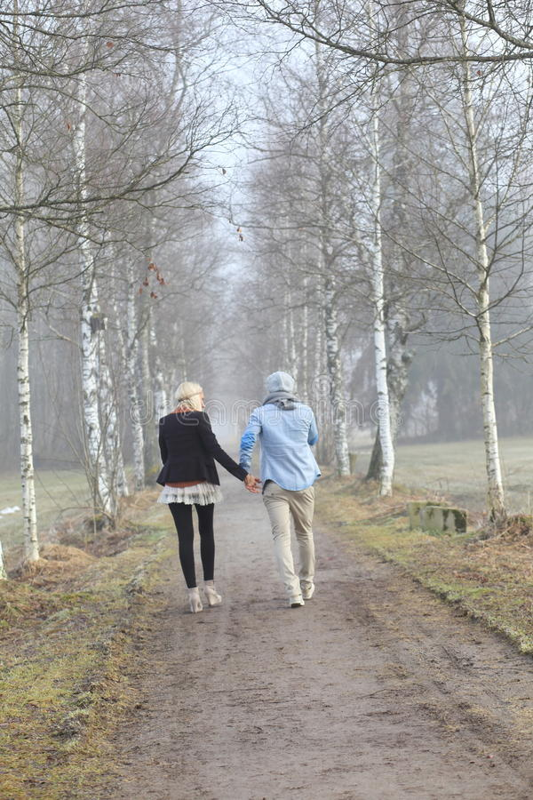 Download Romantic Couple Autumn Royalty Free Stock Photography - Image: 28680297