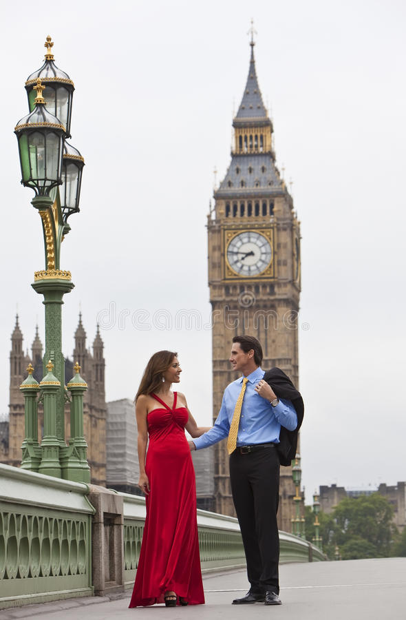 Download Romantic Couple By Big Ben, London, England Stock Photo - Image: 15678816