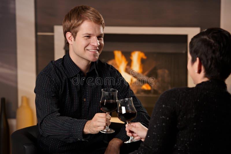 Romantic Couple Dating Royalty Free Stock Photos