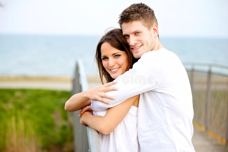 Download Romantic Couple Hugging In The Park Stock Image - Image: 25776269