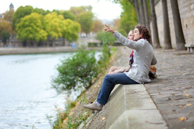 Download Romantic couple in Paris stock photo. Image of european - 22075824