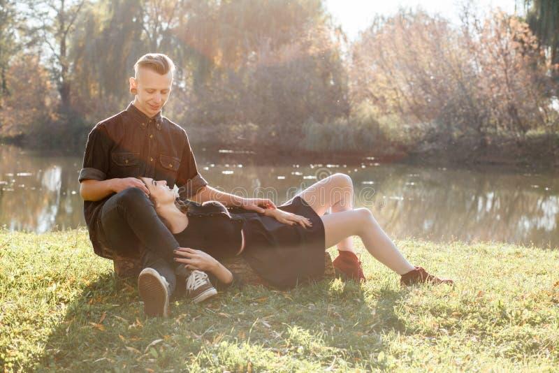 Download Romantic date in park stock image. Image of romantic - 36328373