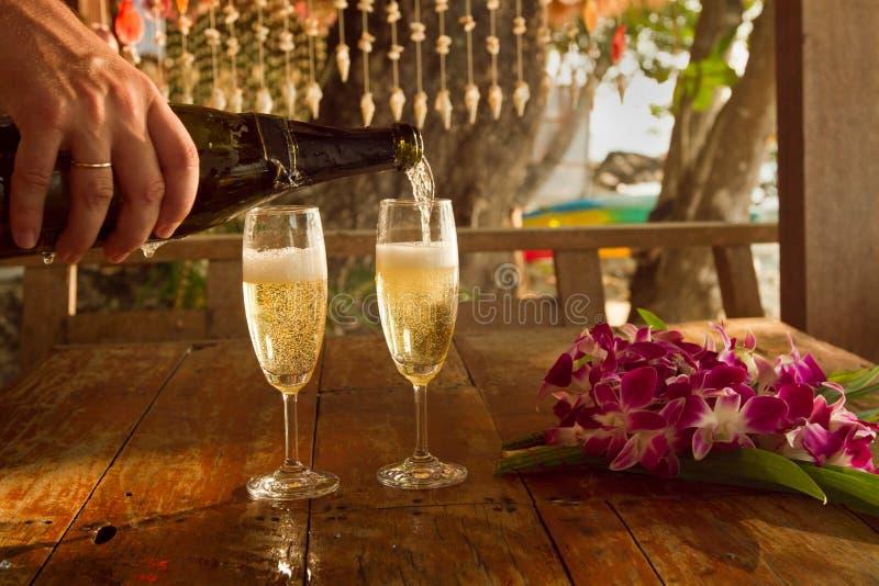 Download Romantic dinner stock photo. Image of elegance, paradise - 23280136