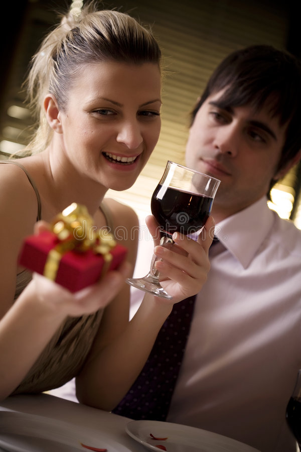 Download Romantic dinner stock image. Image of caucasian, affection - 4133687