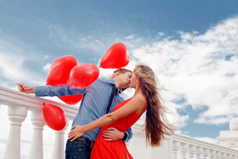 Download Romantic engagement stock image. Image of outdoors, feelings - 12517025
