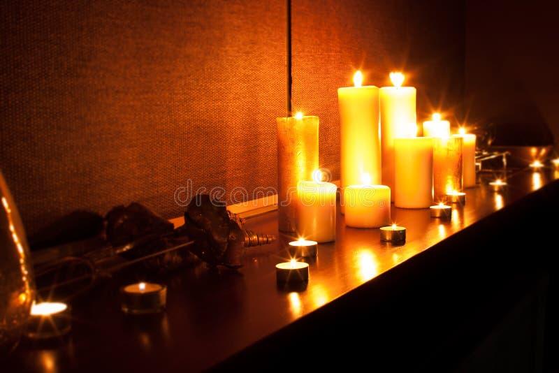 Romantic spa stock photography
