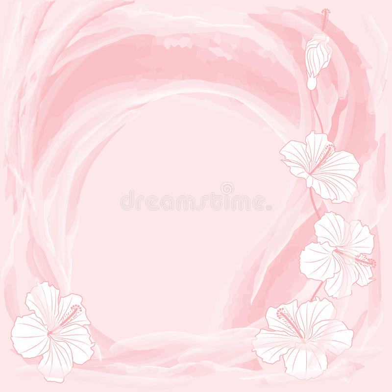 Romantic Floral Background Royalty Free Stock Photography