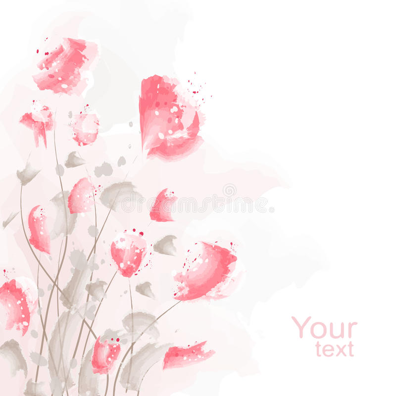 Free Romantic Flower Background Stock Photography - 18756662