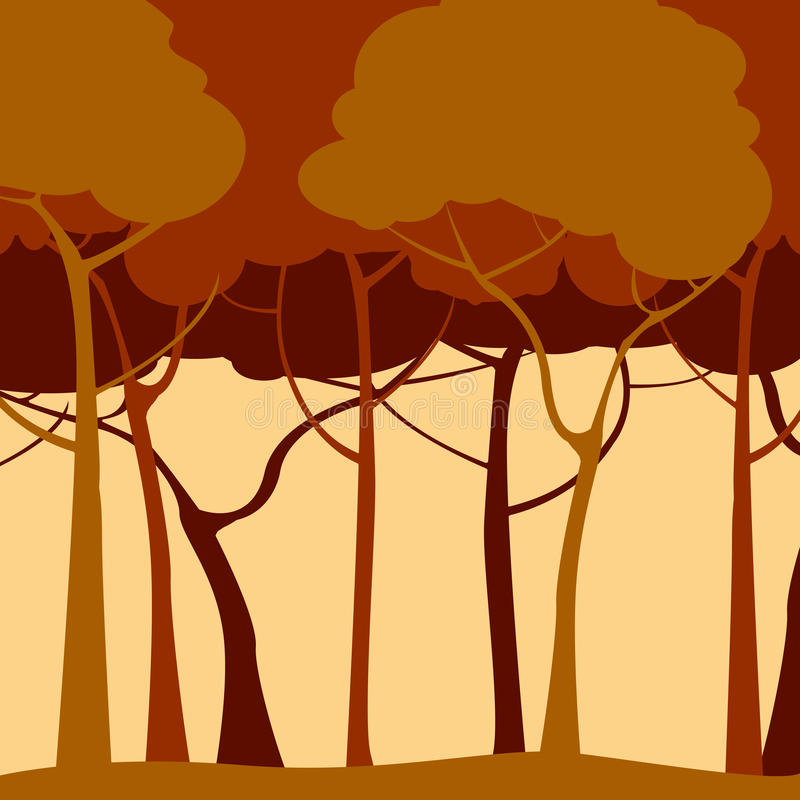 Download Romantic forest stock vector. Image of forest, elegance - 14034356