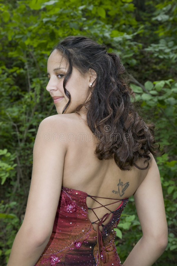 Download Romantic Formals stock image. Image of model, american - 5630109