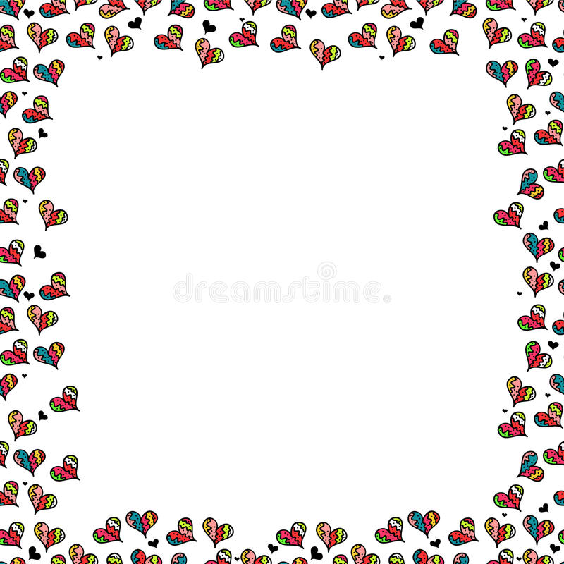 Download Romantic frame stock vector. Image of frame, romantic - 28538292