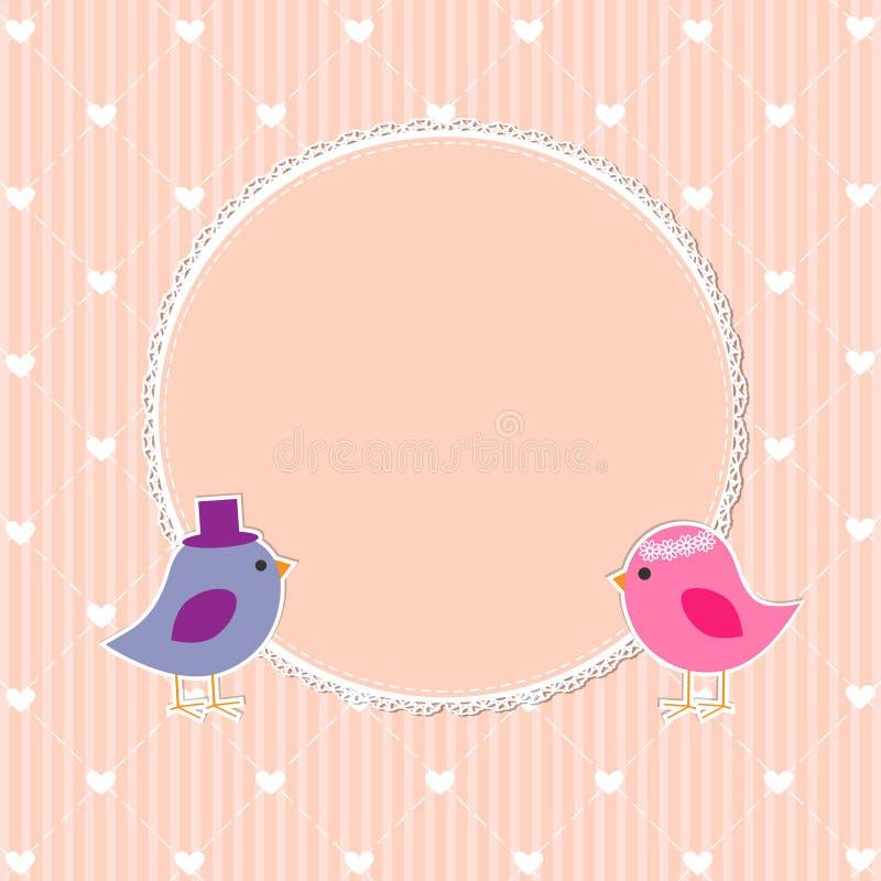 Download Romantic frame stock vector. Illustration of flower, girl - 28671589