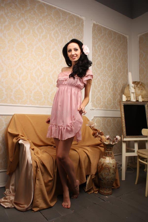 Download Romantic girl stock image. Image of romance, glam, fashion - 17193451