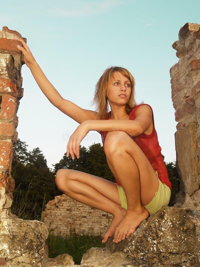 Free Romantic Girl Royalty Free Stock Image - 3160366