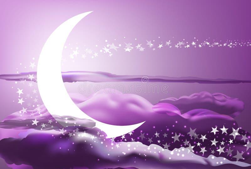 Download Romantic heaven stock vector. Illustration of beautiful - 31991988
