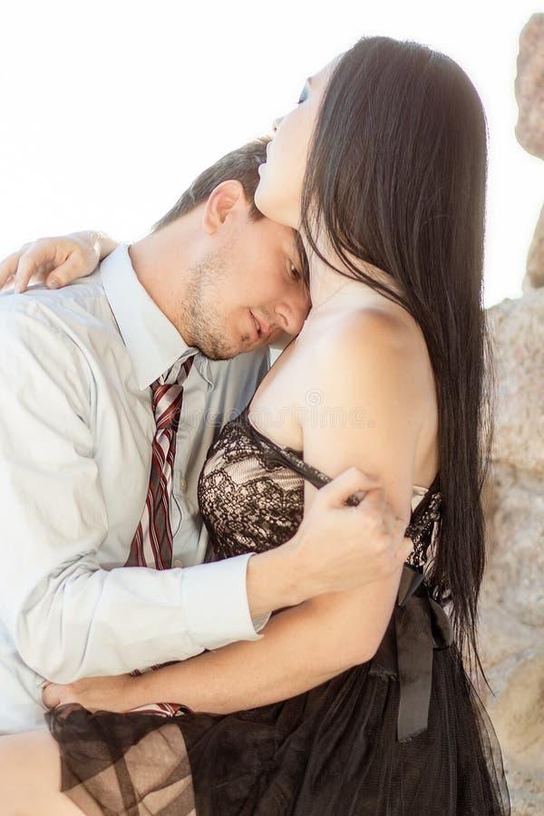 Romantic Intimate Lovers stock image