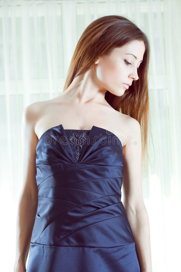 Romantic lady royalty free stock images