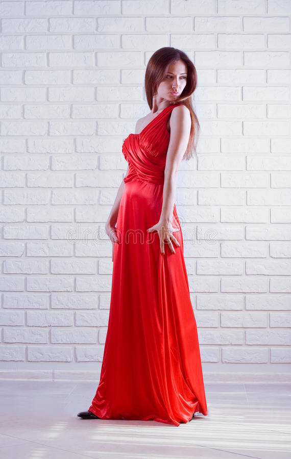 Romantic lady stock image