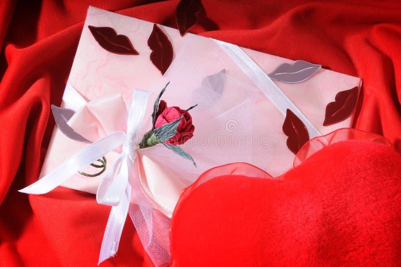 Romantic Letter Stock Photography