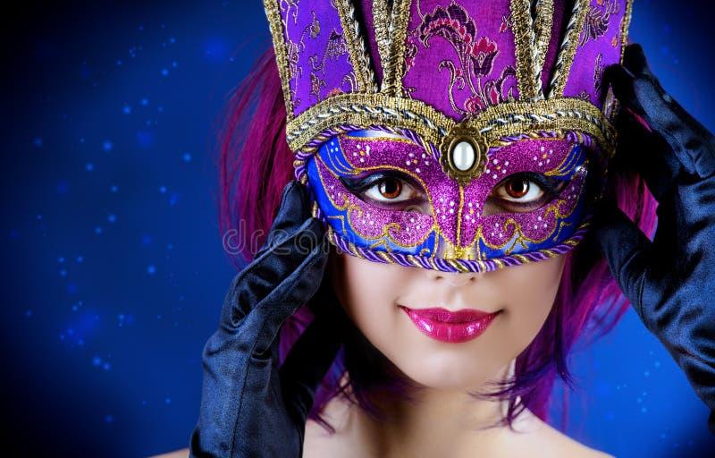 Romantic mask royalty free stock photo