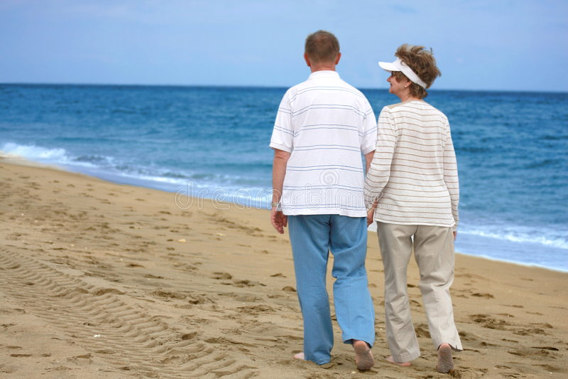 Download Romantic Mature Couple Enjoing Outdoor Stock Photography - Image: 8050112