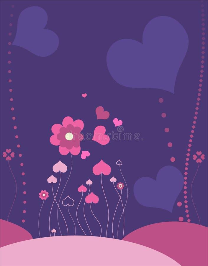 Romantic meadow royalty free stock photos