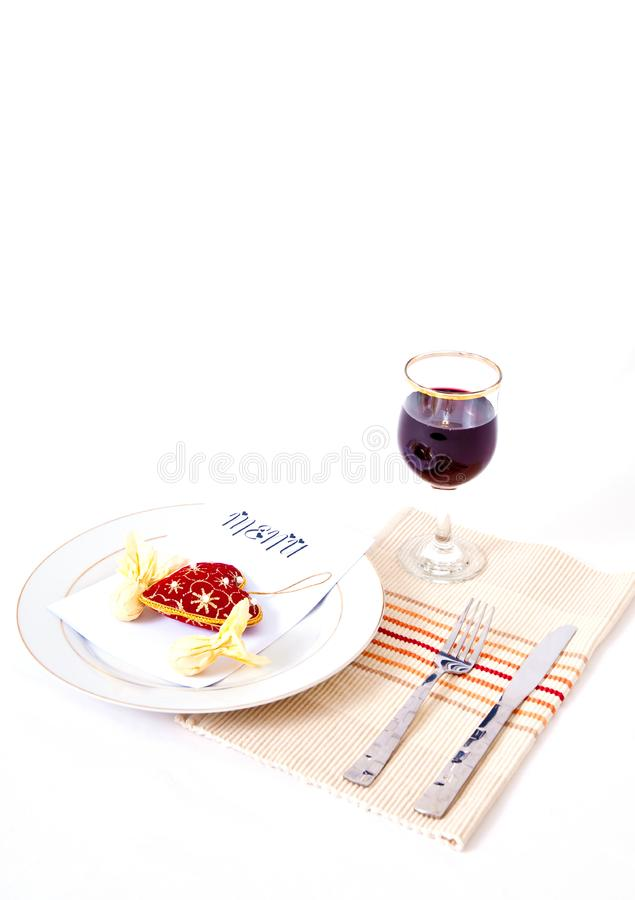 Download Romantic Meal Setting stock photo. Image of food, fancy - 7975518